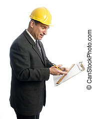 clipboard, ophids, entrepenør