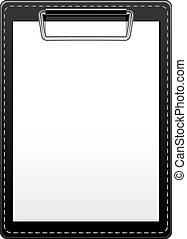 Clipboard over white. EPS 10, AI, JPEG