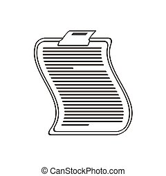 clipboard related icon image