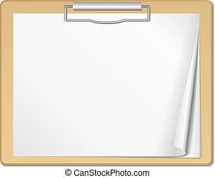 Clipboard, vector eps10 illustration