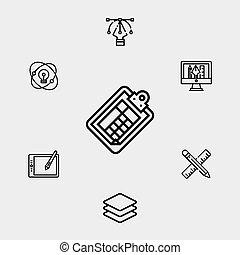 Clipboard vector icon sign symbol