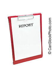 Clipboard with Reports