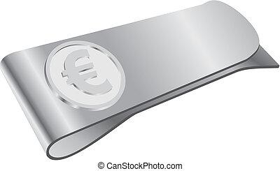 clipper, simbolo soldi, euro