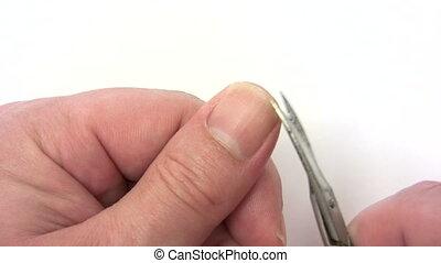Clipping Fingernail - Canon HV30. HD 16:9 1920 x 1080 @...