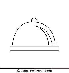 cloche Icon Illustration design