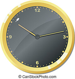 clock., 矢量