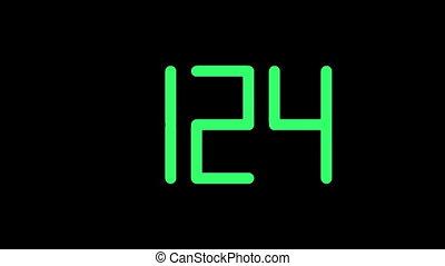 Clock-301-33 - Digital counter (33s/30fps).