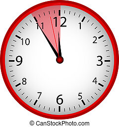 "Clock ""5 to 12"""