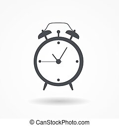 Clock Alarm Icon Vector Illustration
