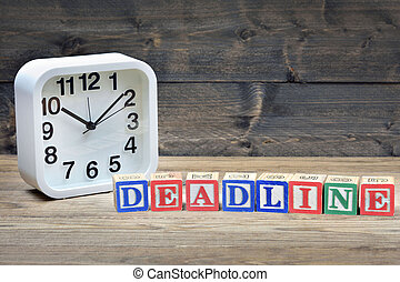 Clock and word deadline