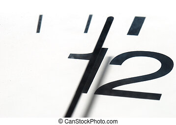 clock before twelve