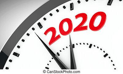 Clock dial 2020 #3