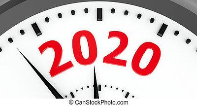 Clock dial 2020