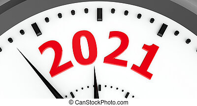 Clock dial 2021