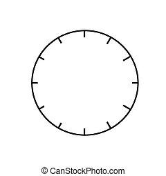 clock graphic vector eps10