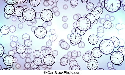 """Clock face animation. Business concept."""