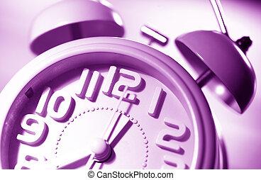 Clock face - Close up of an clock face