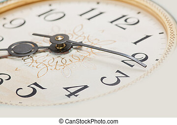 clock face, macro - clock face, hands of the clock, macro