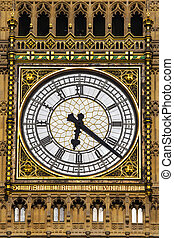 Clock Face on the Elizabeth Tower