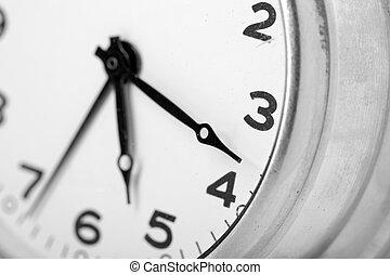 Clock face - Closeup of classical clock face