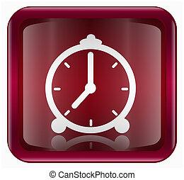 clock icon, isolated on white background