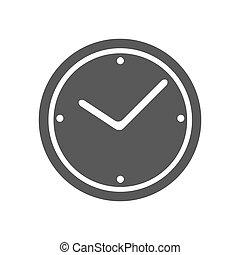 Clock icon simple