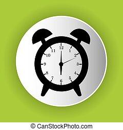 clock icon symbol design