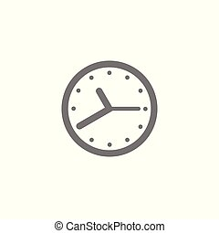 Time icon vector. Element for your design