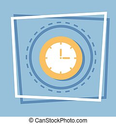 Clock Icon Time Watch Concept