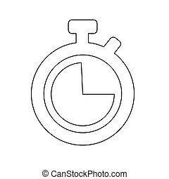 Clock icon vector illustration