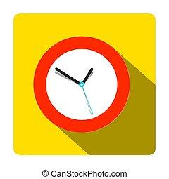 Clock Icon. Vector Time Symbol.