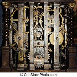 Clock inside
