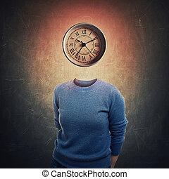 clock instead head