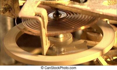 clock mechanism 11 - clock mechanism