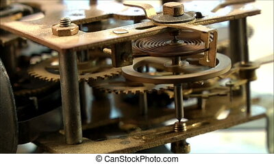 clock mechanism 18 - clock mechanism
