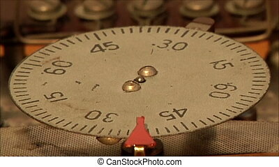 clock mechanism 20 - clock mechanism