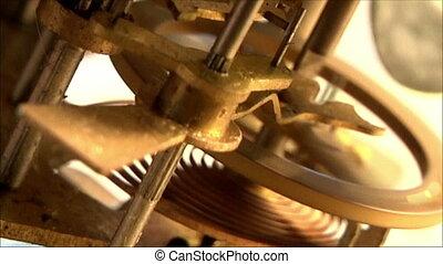 clock mechanism 25 - clock mechanism