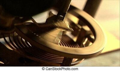 clock mechanism 8 - clock mechanism