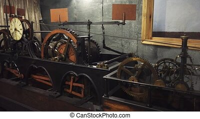 Clock Mechanism. watch - Clock Mechanism