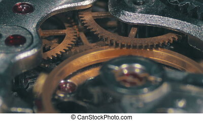 Clock Mechanism Works