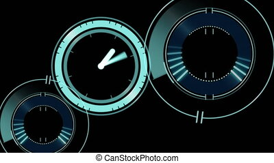 Clock moving and data processing