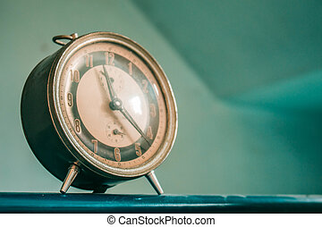 clock on the background