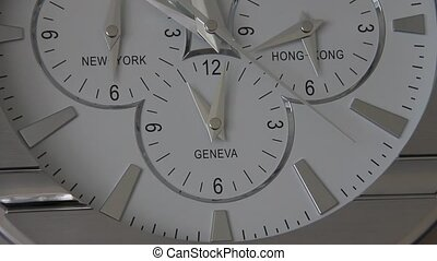 Clock on the wall