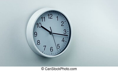 Clock On Wall Generic Home Or Office Area