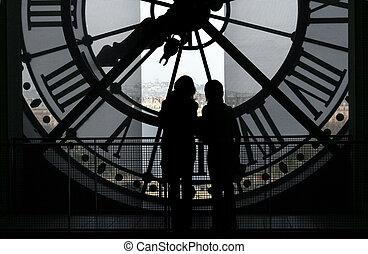 Clock @ Orsay Museum
