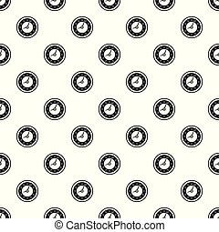 Clock pattern seamless vector