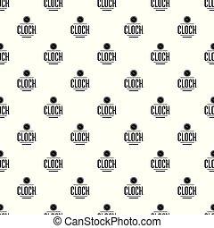 Clock pattern vector seamless