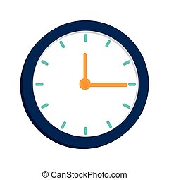 clock time watch hour  design
