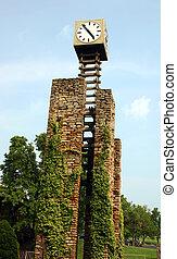 A unique clock tower