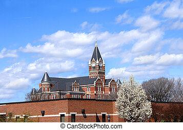 Clock Tower at Friends University